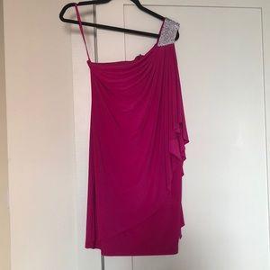 CACHE Hot Pink Dress